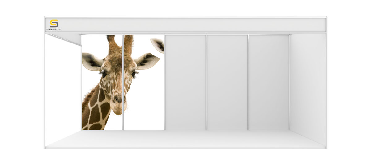 Switchscene | Commercial Wallpaper | Giraffe